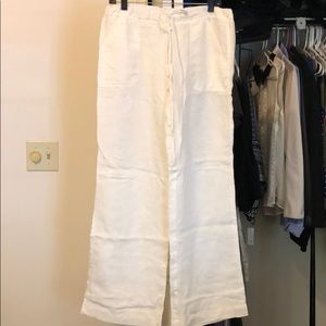 Max Studio Linen Pants